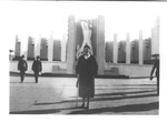 Catherine Bliss Enslow at the Chicago World's Fair, 1933