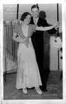 Al & Anna Zeising, Vanity Fair Marathon dance, Huntington, 1933