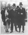 Pres. Franklin Delano Roosevelt , wife Eleanor