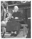 Aunt Polly Triplett performing at 26th American Folk Song Festival, 1956
