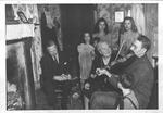 Marion Kerby, singer and Bun Oney, fiddler , 1950