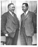 Vice President Alben Barkley (on left)