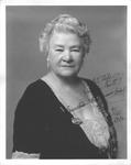 Autographed photo of Ernestine Schumann-Heink, 1934
