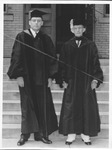 Marshall College Pres. James Allen (on right)