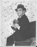 Autographed photo of Dave Rubinoff, violinist