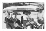 Catherine Bliss Enslow & women's group, Mackinac Island, Mich.