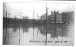 Marshall College, corner of 16th St & 3rd Ave, 1913 flood