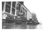 Keith Albee Theater & 4th Ave., Huntington, 1937 flood