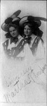 Martha Thompson and friend