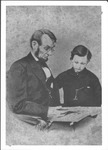 President Abraham Lincoln and son, Tad