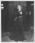 Autographed photo of soprano star Miliza Korjus