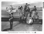 Movie still of Carmen Miranda in