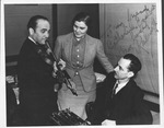 Autographed photo of David Rubinoff, violinist