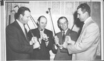 Sam Snead, Stan Musial, and 2 friends