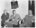 Vice Pres. Henry A. Wallace (center) Col. Joseph H. Long on left
