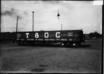 Wood gondola car manufactured by ACF, Huntington, W.Va., ca.1900