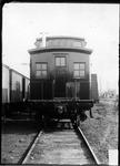 Wood caboose, manufactured by ACF, Huntington, W.Va., ca.1900