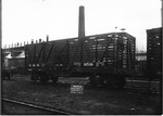 Wood sided cattle car, manufactured by ACF for C&O RR, Huntington, W.Va., 1911