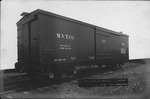Wood railroad car built for Monongahela Valley Traction Co. by ACF, 1918