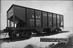 52 ton coal hopper car built for the B&O Railroad, by ACF, 1916