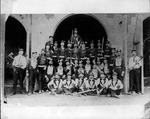 Huntington, W.Va. fire dept., in front of Central Fire Station, ca. 1890's