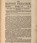 Object and Importance of Ministerial Education by John Newton Brown