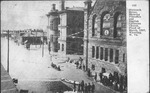 16th St, with Post Office during flood of Mar. 15, 1907, Wheeling, W.Va.
