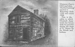 Ebenezer Zane's Old Log Cabin Wheeling, W.Va.