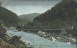 New River Suspension Bridge, Nuttall, W.Va.