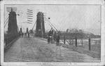 Guyandotte bridge, Huntington, W. Va., 1910.