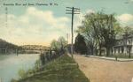 Kanawha River and Street, Charleston, W.Va.