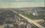 Bird's eye view looking west from Ninth street, Huntington, W. Va., 1911.