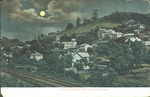View of Cameron, W.Va. by moonlight