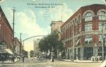 9th street, south from 3rd avenue, Huntington, W. Va., 1912.