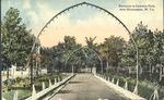 Entrance to Camden park, near Huntington, W. Va., 1914.