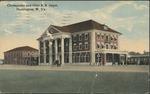 Chesapeake and Ohio R. R. depot, Huntington, W. Va., 1914.