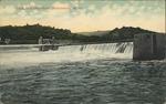 Dam 18 in Ohio River, Parkersburg, W.Va.