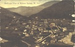 Birds-eye view of Webster Springs, W.Va.