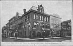 Corner High (Main) & Walnut Sts, & Odd Fellow's Bldg, Morgantown, W.Va.