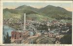 Birds-eye view Logan Co. Power plant, Logan, W.Va.