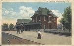 B&O (Baltimore & Ohio) RR station, Parkersburg, W.Va.