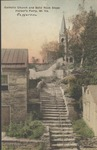 Catholic Church and rock steps, Harpers Ferry, W.Va.