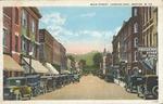 Main Street, Looking East, Weston, W.Va.