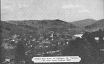 Birds eye view of Philippi, W.Va. as seen from college hill