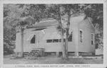 Cabin at W.Va. Baptist Camp, Cowen, W.Va.