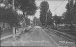 Main Street, Downs Station, WVa