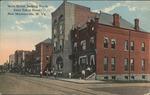 Main Street, North from Eakin Hotel, New Martinsville W.Va.