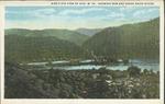 Birds eye view of Avis, W.Va., showing New & Greenbrier Rivers