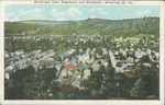 Birdseye view,Edgewood & Woodlawn, Wheeling, W.Va.