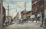 Kanawha Street, Looking west, Charleston, W.Va.